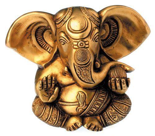 Esoterik-shop-nature-for-you.de-Ganesha, Messing, 13 cm