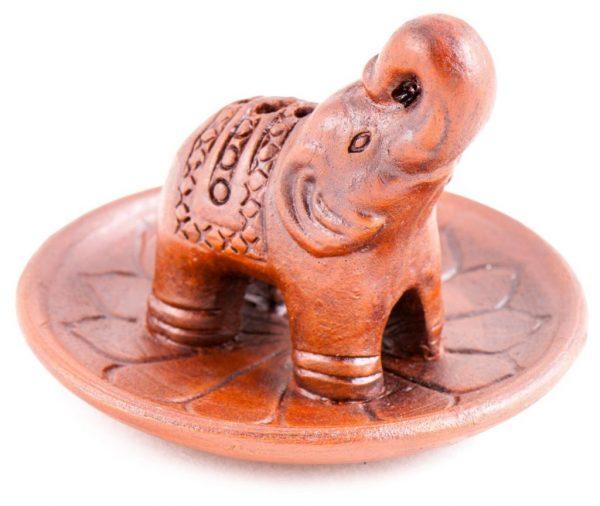 Esoterik-shop-nature-for-you.de-Räucherhalter Elefant auf Lotusblume