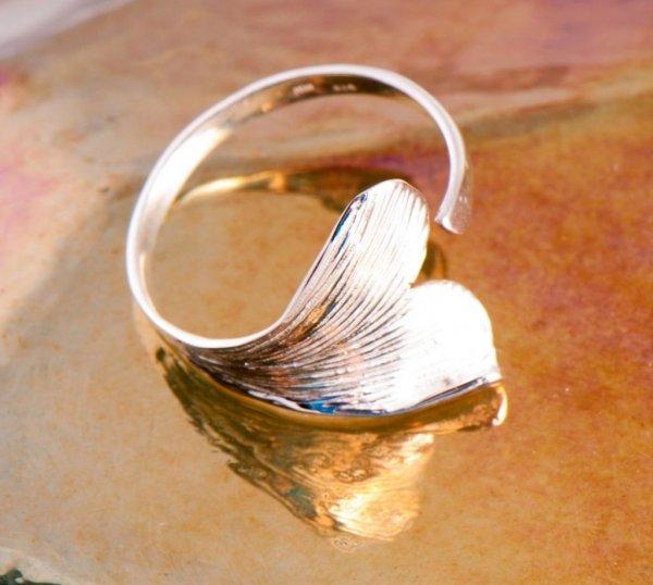 Esoterik-shop-nature-for-you.de-Ginkgo Blatt Ring